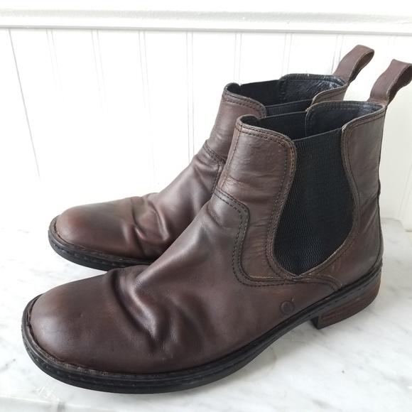 20a287e41279e Men's born Hemlock brown leather boot 11